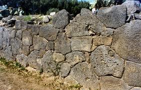 Τμήμα τειχών Νάξου Σικελίας.